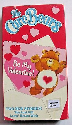 Vintage The Care Bears Be My Valentine! (VHS, 1989)