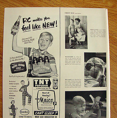 1953 RC Royal Crown Cola Ad Makes you Feel Like