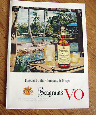 1954 Seagram's VO Whiskey Ad