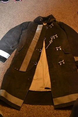 Used Janesville Apparel Co. Firefighter Turnout Jacket Size 40