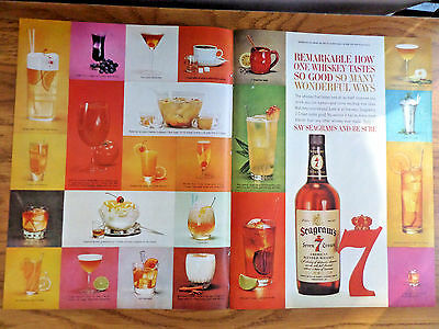 1962 Seagram's 7 Crown Whiskey Ad