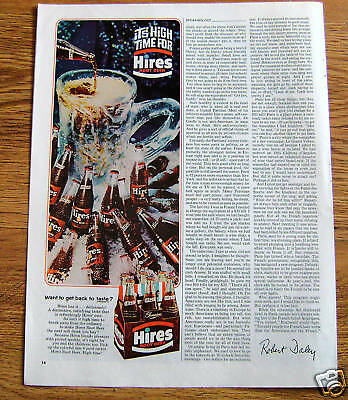 1965 Hires Root Beer Ad It's High Time for Hires