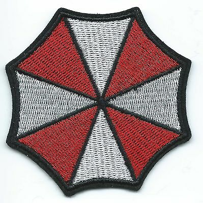 Umbrella Corporation Embroidered Patch Iron-on Art Good Luck Charm Resident Evil