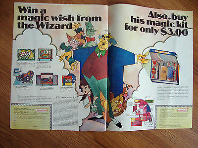 1967 Armour Win A Wish Sweepstakes Ad From the Wizard Magic Kit
