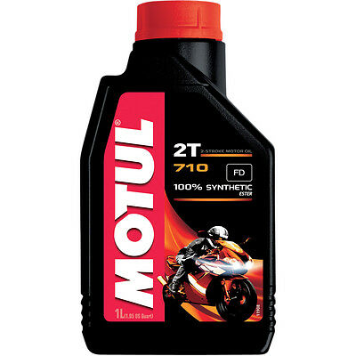 Motul 104034 710 Synthetic 2-Stroke Motor Oil 1 Liter