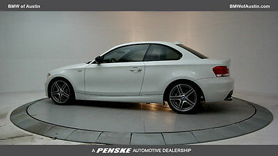 2013 BMW 1-Series 135is 135is 1 Series Low Miles 2 dr Coupe Gasoline 3.0L STRAIGHT 6 Cyl Alpine White