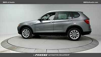 2017 BMW X3 sDrive28i Sports Activity Vehicle sDrive28i Sports Activity Vehicle New 4 dr Automatic Gasoline 2.0L 4 Cyl Space G
