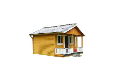 Build your own 384 sq/ft cabin with loft (DIY Plans) Easy to build! Save Money!