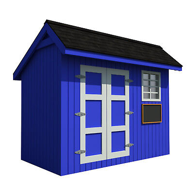 Build your own Shed / Kids workshop or Playhouse for the kids (DIY Plans)