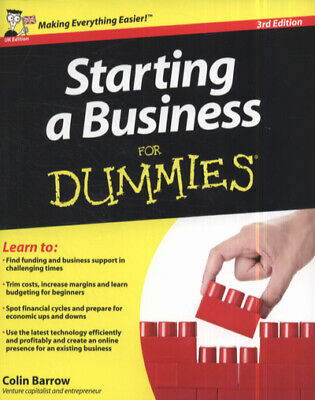 Starting a business for dummies by Colin Barrow (Paperback)