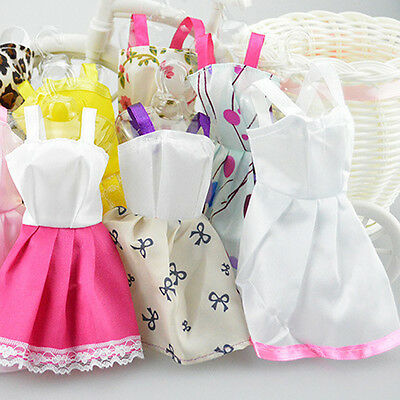 "10Pcs Fashion Handmade Dresses Clothes For 11"" Barbie Doll Style Random Hot Sale"