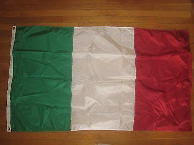 Italian 3' x 5' Flag Made In The USA