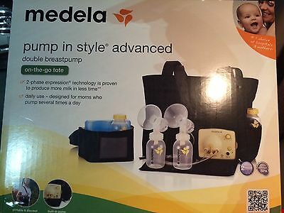 New Factory Sealed Medela Pump In Style Advanced Double Breastpump with tote