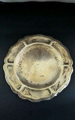 Sterling Silver Small Dish Marked 925/1000 Mexico Signed
