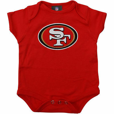 San Francisco 49ers Infant Team Logo Creeper (FREE SHIPPING) 24 months