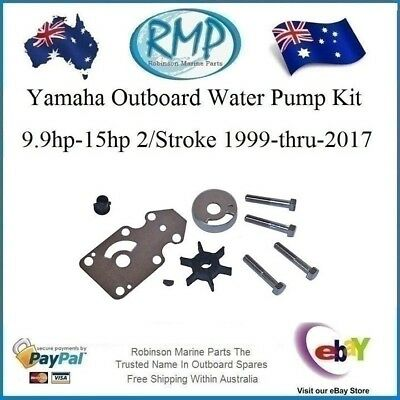 A New RMP Water Pump Kit Yamaha 2/Stroke 9.9hp-15hp 1999-2017# R 63V-W0078-00