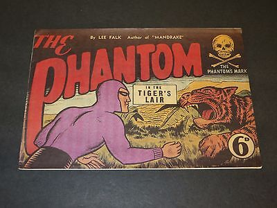 Frew THE PHANTOM IN THE TIGER'S LAIR By Lee Falk
