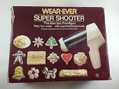 Wear Ever Super Shooter The Electric Food Gun Model 70123