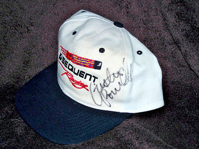 Cristen Powell Cap Hat Authentic Signed Autographed NHRA Sequent Racing