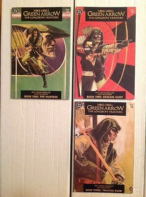 GREEN ARROW: THE LONGBOW HUNTERS (DC 1987) HIGH GRADE Complete Series 1 2 3 NM-