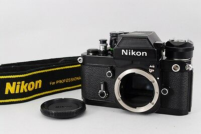 【EXC+++++ Vintage】 Nikon F2 AS Photomic Black 35mm Camera w/Case AS-1 From Japan