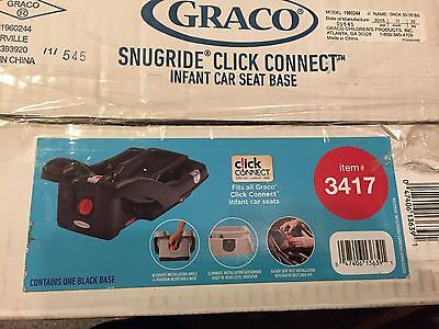 Graco SnugRide Click Connect 30/35  Infant Car Seat Base, Black**FREE SHIPPING!!