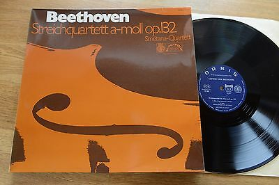 Beethoven string quartet  op. 132 SMETANA QUARTET LP Orbis 99280