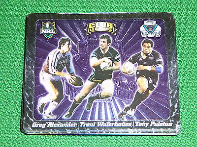2008 Nrl Footy Tazo #65 Club Legends Trio Penrith Panthers Alexander Waterhouse