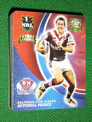 2008 Nrl Footy Tazo #16 Future Legend Mitchell Pearce Sydney Roosters
