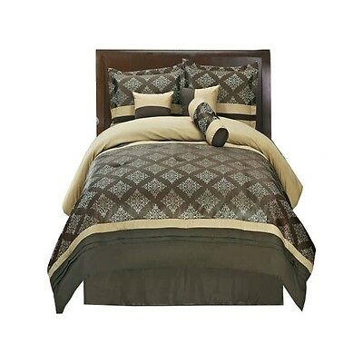 Coffee Thomasville Bed in a Bag Bedding Set (7-Pieces)