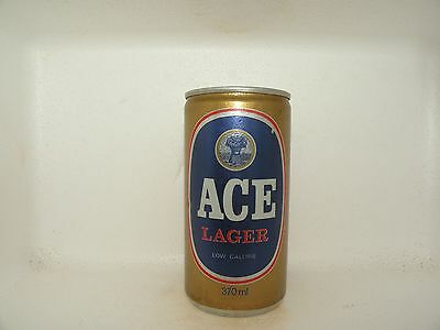 ACE LAGER 370ml EMPTY BEER CAN