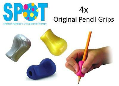 4x Mini Original Pencil Grips *HAND WRITING school OT special needs THERAPY *