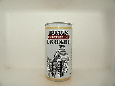 Boags Centenary Draught Empty Beer Can