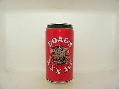 BOAGS XXX ALE 375ml EMPTY BEER CAN MODERN DESIGN