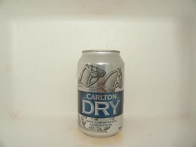 CARLTON DRY EMPTY BEER CAN 330ml