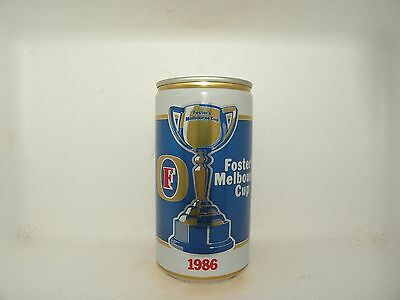Fosters Lager 1986 Melbourne Cup Empty Beer Can