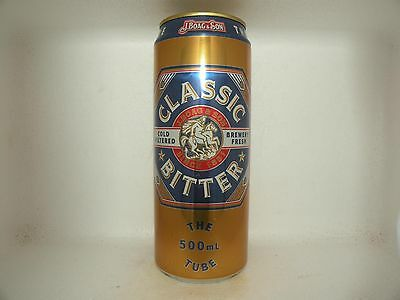 J.BOAG AND SON CLASSIC BITTER 500ml EMPTY BEER CAN