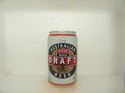 WEST END DRAFT 330ml EMPTY BEER CAN