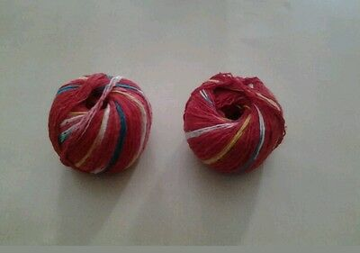 MAULI / KALAVA /NADA CHHADI Sacred Red Thread Used for Religious Rituals etc x 2