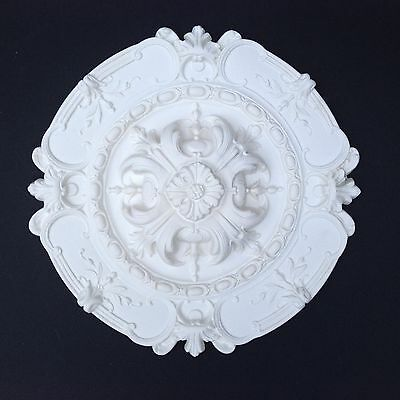 Ceiling Rose Strong Lightweight Resin (Not Polystyrene) Size 420MM 'GRANTHAM'