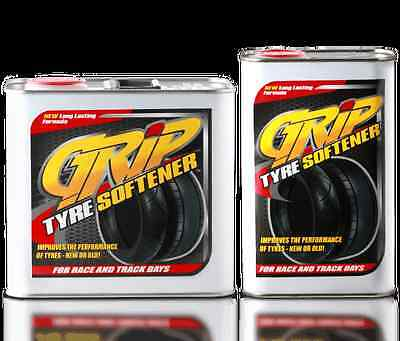 Grip Tyre Softener 1LT NEW FORMULA go kart karting speedworth hotrod f1
