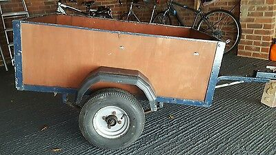 used 4x3 trailer with cover