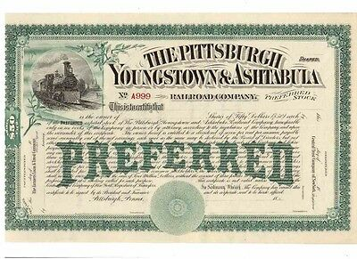 Pittsburgh Youngstown & Ashtabula Railroad Company