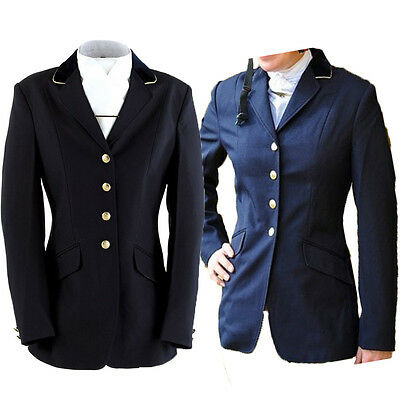 Ladies Dublin Ashby Show Jacket Navy and Black