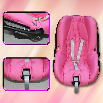 Replacement Spare Seat Cover fits Maxi-Cosi CabrioFix Infant Carrier 0-12kg Pink