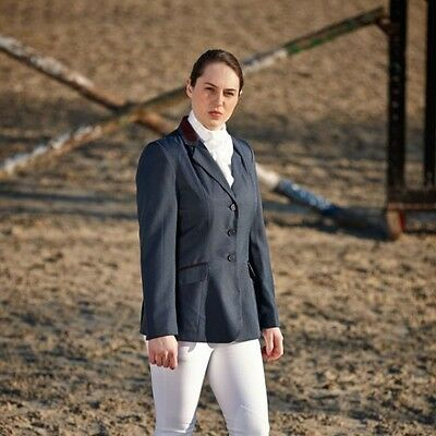 Ladies Dublin Atherstone Show Jacket Navy and Black