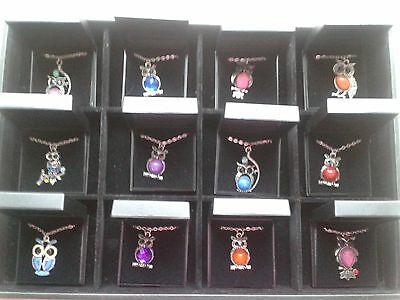 Joblot 12 New Items Of Fashion Jewellery Necklaces Gift Boxed
