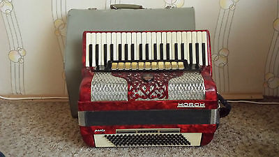 Accordion Horch Superior German 120 Bass Perfect Sound