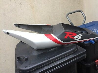 Look Yamaha Yzf-R6 R6 Yzf600 5Eb 1999 Rear Tail Fairing Panel / Seat Unit