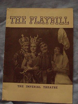 The Playbill -The Imperial Theatre Programme -1940 'Louisiana Purchase'